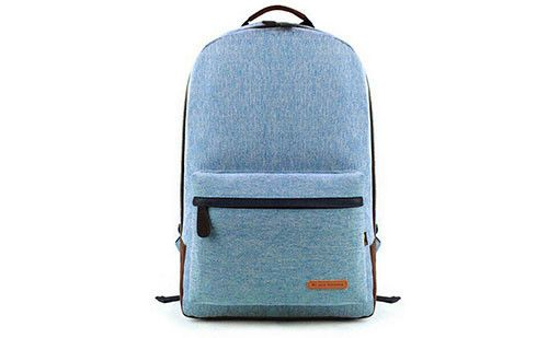 The Edgar Sky Blue Linen Backpack #blue #backpack #menswear #accessories