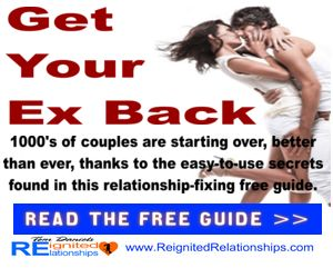 1000's are starting over, better than ever after a breakup, thanks to the easy to use secrets in this how to get your ex back relationship fixing guide. Get the free course, click here: http://www.reignitedrelationships.com/