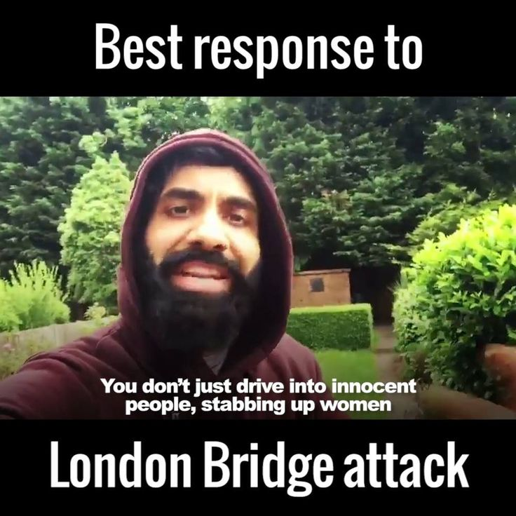 Paul Chowdhry has a message for the London Bridge attackers.