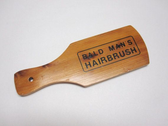 Joke Kitsch Bald Man S Hairbrush For The Home Bald Man