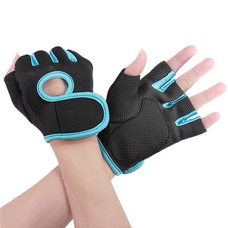 送料無料男性&女性フィットネスエクササイズワークアウトウエイトリフティングスポーツ手袋ジムボディビルトレーニングハーフフィンガーサイズm