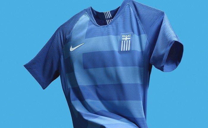 brillo honor flaco  Greece 2018/19 Nike Home and Away Kits - FOOTBALL FASHION | Football  fashion, World soccer shop, Jersey design