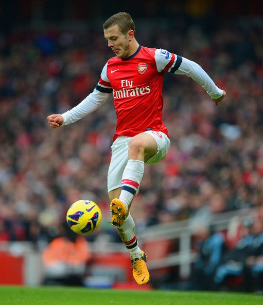 Control, by Jack Wilshere.
