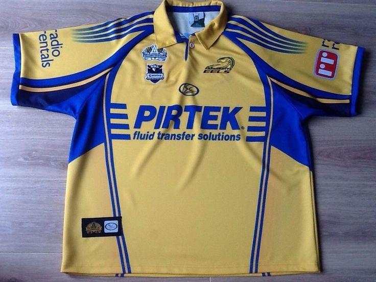 Parramatta Eels Rugby League Jersey Shirt 1908-2008 Adults 3XL See Description   eBay