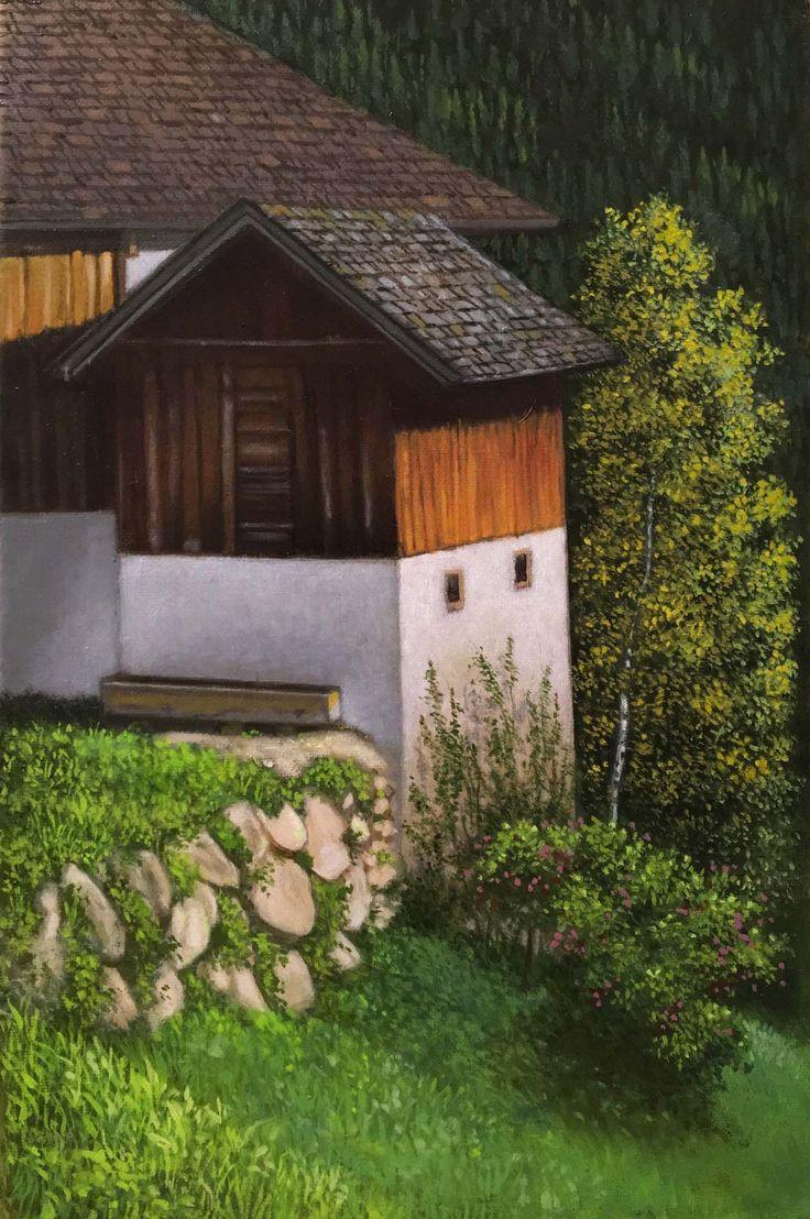 Plein air oil painting. 30 x 20 cm. patriciagleesmith.org