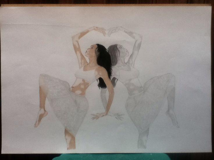 Black, Color n' white by Juliana Hernandez  Model - Chantelle Winnie