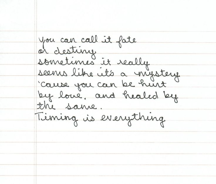 timing is everything - country strong. Love this song