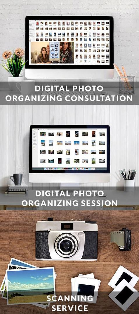Organize Digital Photos  Scan Physical Photos  | Becky
