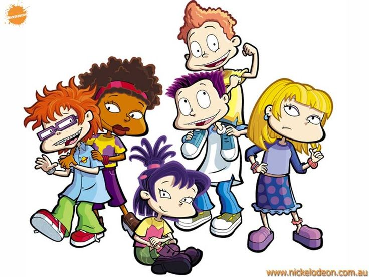Rugrats, All Grown Up! Chucky,Susie,Kimi,Tommy,Dil,& Angelica