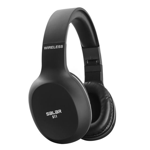 Salar S11 Wireless Headset with Mic for Phone PC Computers