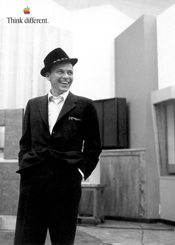 Frank Sinatra - Dec 12, 1915 – May 14, 1998. 1980 – Inducted into the Big Band and Jazz Hall of Fame. #Apple #SteveJobs #iPhone #Macintosh #Woz #Museum #Prague #Czech #CzechRepublic #Europe #World #Travel #Think #Different