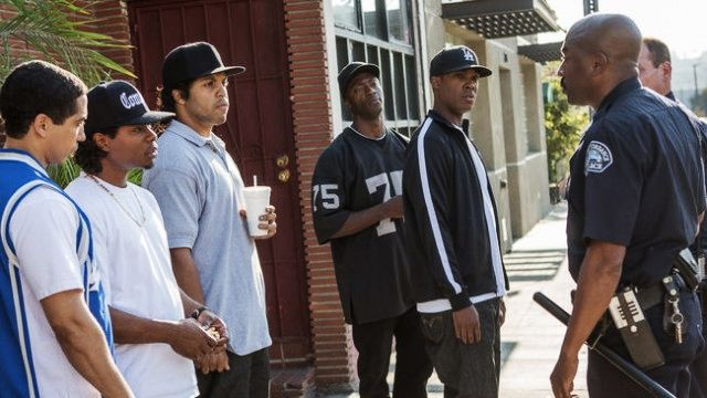 like a mirror would too LAPD Says Straight Outta Compton Movie Will Endanger the Safety of Police