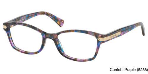 Coach HC6065 Eyeglasses Frames <br/>Prescription Lenses Fit