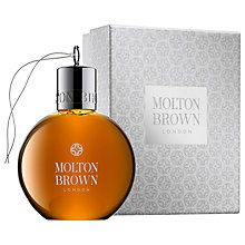 Buy Molton Brown Black Peppercorn Shower Gel Festive Bauble, 75ml Online at johnlewis.com