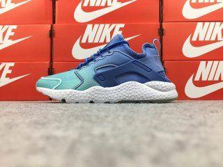 674d02fef271d Nike Air Huarache Run Ultra SE White Bule 833292-401 Women s Footwear Running  Shoes