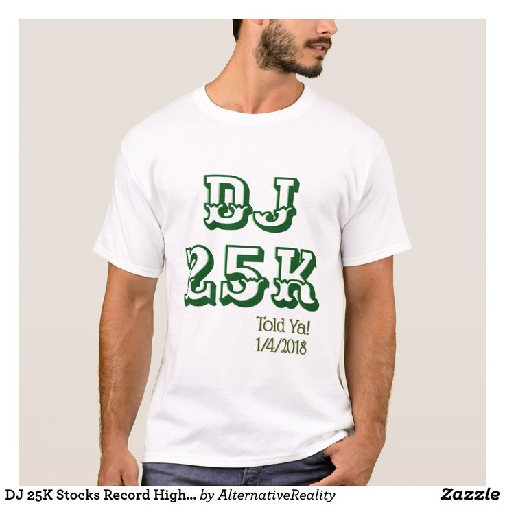 DJ 25K Stocks Record High Told Ya $23.65 #DowJones #StockMarket #MutualFund #Retirement #Money The Stock Market hit a record high today of 25K, January 4, 2018. DJ 25K Told Ya! 1/4/2018. 2017 has been a record breaking year! Stock market index industrial average has hit 25,000, showing growth in stock holder portfolios. IRA 401K retirement funds are growing, allowing seniors to have a more secure future. Economic growth and positive mindsets are the future!