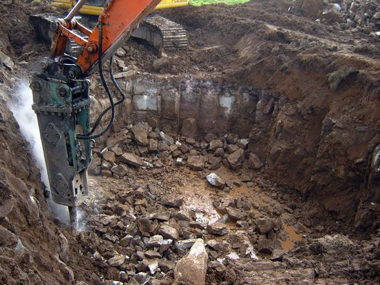 Excavated Material