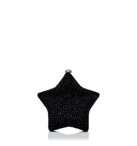 CL1099-Mackenzie Star Clutch/Black