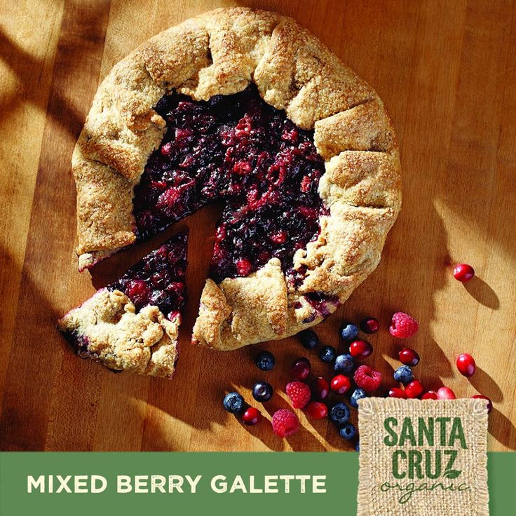 mixed berry galette santa cruz organic recipes mixed berries berry ...