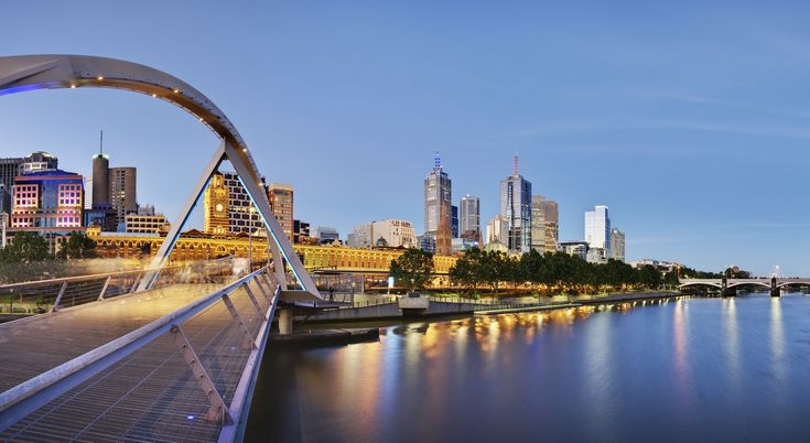 Melbourne, Australie.