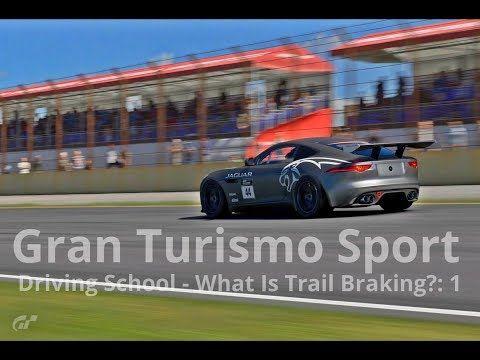 New video! #granturismosport #gtsport #gtplanet #sony #ps4 #ps4pro #playstation #simulator #game #games #drivingschool #whatis #trailbraking #trail #braking #jaguar #ftype #ftypegr4 #racecar #cars #tracks #online #roadracing #rallyracing #tutorial #gtsportgameplay