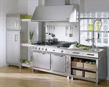 cocinas de acero inoxidable industriales - Buscar con Google