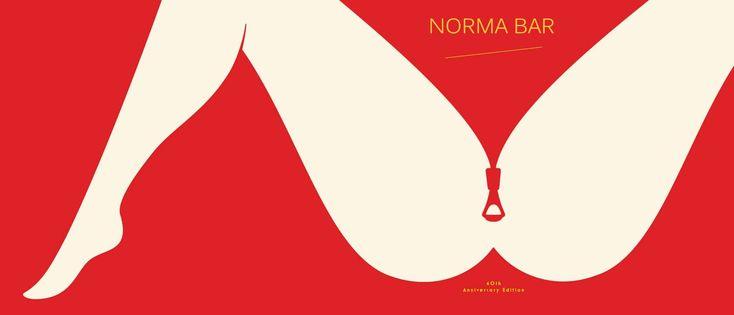 Иллюстратор Норма Бар владеет мастерством совмещения простоты изображения и множественности смыслов.