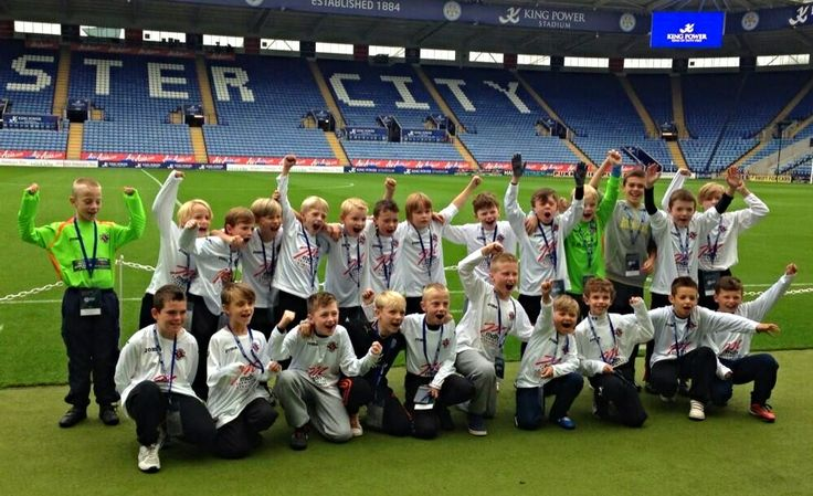 This brilliant photo was sent in by another happy junior side in Leicestershire who also took advantage of our 2013 Summer Joma Offer and showed off their new MDH Sponsored Kit in style during an appearance at the Walkers Stadium in Leicester.  For more information on the Joma Fit One Jersey, please follow the link below:  http://www.mdhteamwear.co.uk/home/shirts/joma-shirts/fit-one-jersey