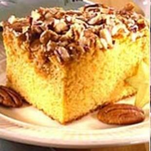 Butterscotch Pudding Cake: Butterscotch pudding and butterscotch chips yield a decidedly sweet and succulent cake when combined with our Duncan Hines Classic Yellow Cake Mix.