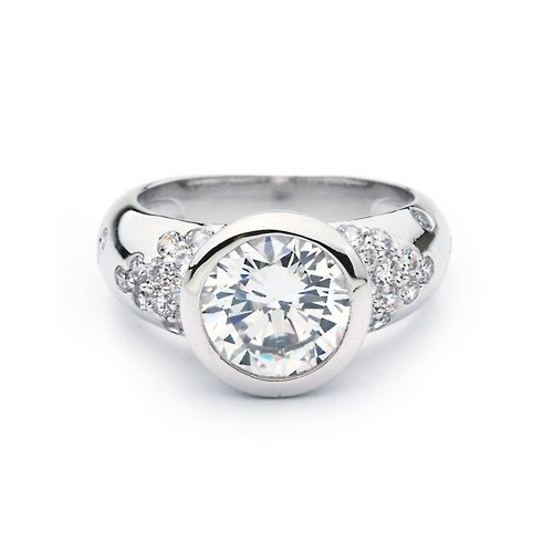 Empress Ring with Cubic Zirconia