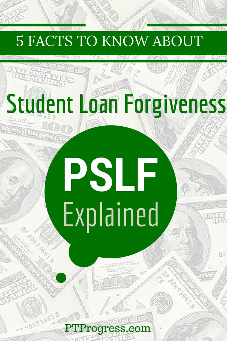Student loan forgiveness through Public Service Loan Forgiveness PSLF Program
