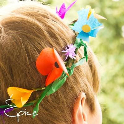 Wianek folk / folk flower wreath