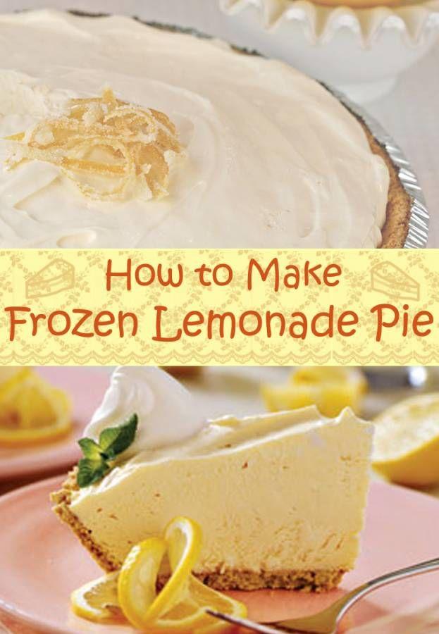 Best 25 frozen lemonade pie ideas only on pinterest cream cheese lemonade pie chick fil a - Lemonade recipes popular less known ...