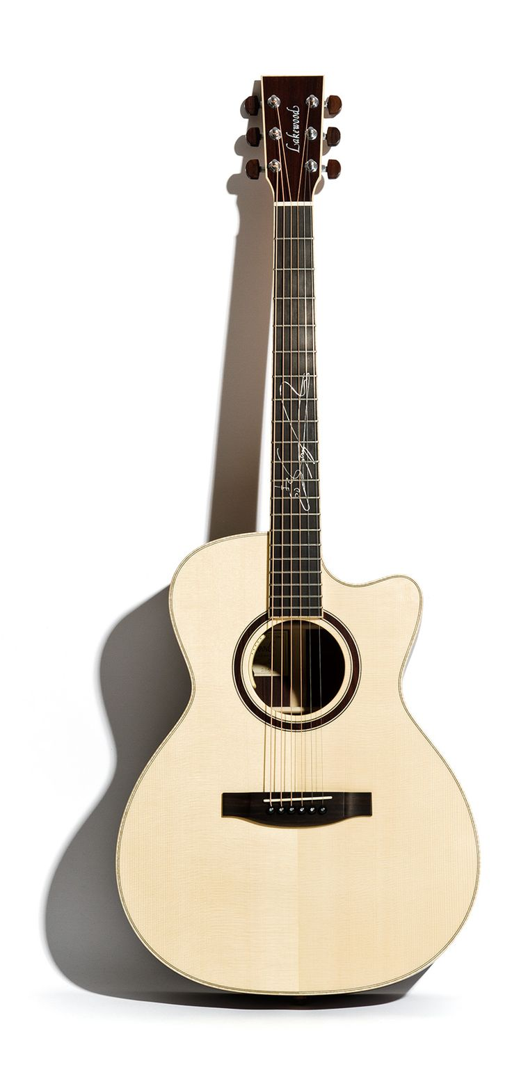 Lakewood Guitars - Guitar details Sungha Jung Signature