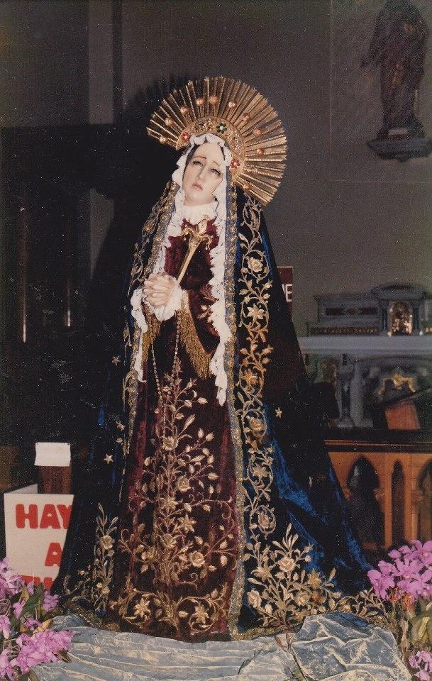 Dolorosa, Convento Padres Capuchinos de Cartago, Costa Rica
