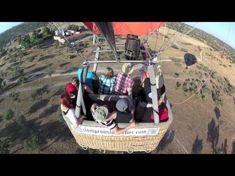 Montar en globo en Mérida.Siempreenlasnubes.com