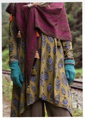 Winter 2016 Der Amazonas & die Anden - Mode - Kollektionen - Winter - Gudrun Sjödén