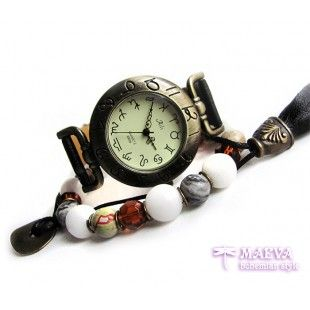 Set #boho #watch with a #bracelet  Free spirit Maeva http://maevabohemian.com/index.php?route=product/product&product_id=91