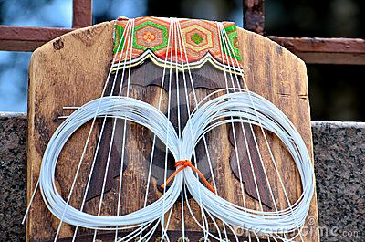 Koto Instrument by Tomatika, via Dreamstime