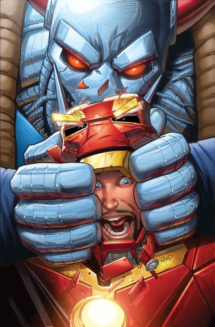 Iron Man by Greg Land *