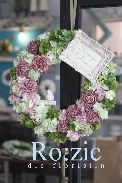 preserved flower http://rozicdiary.exblog.jp/25993511/