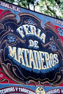 10 sitios para visitar en Buenos Aires: Feria de Mataderos