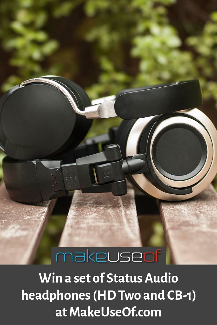 Enter to win these Status Audio headphones at MakeUseOf.com! Enter Here: https://wn.nr/rmmVLj