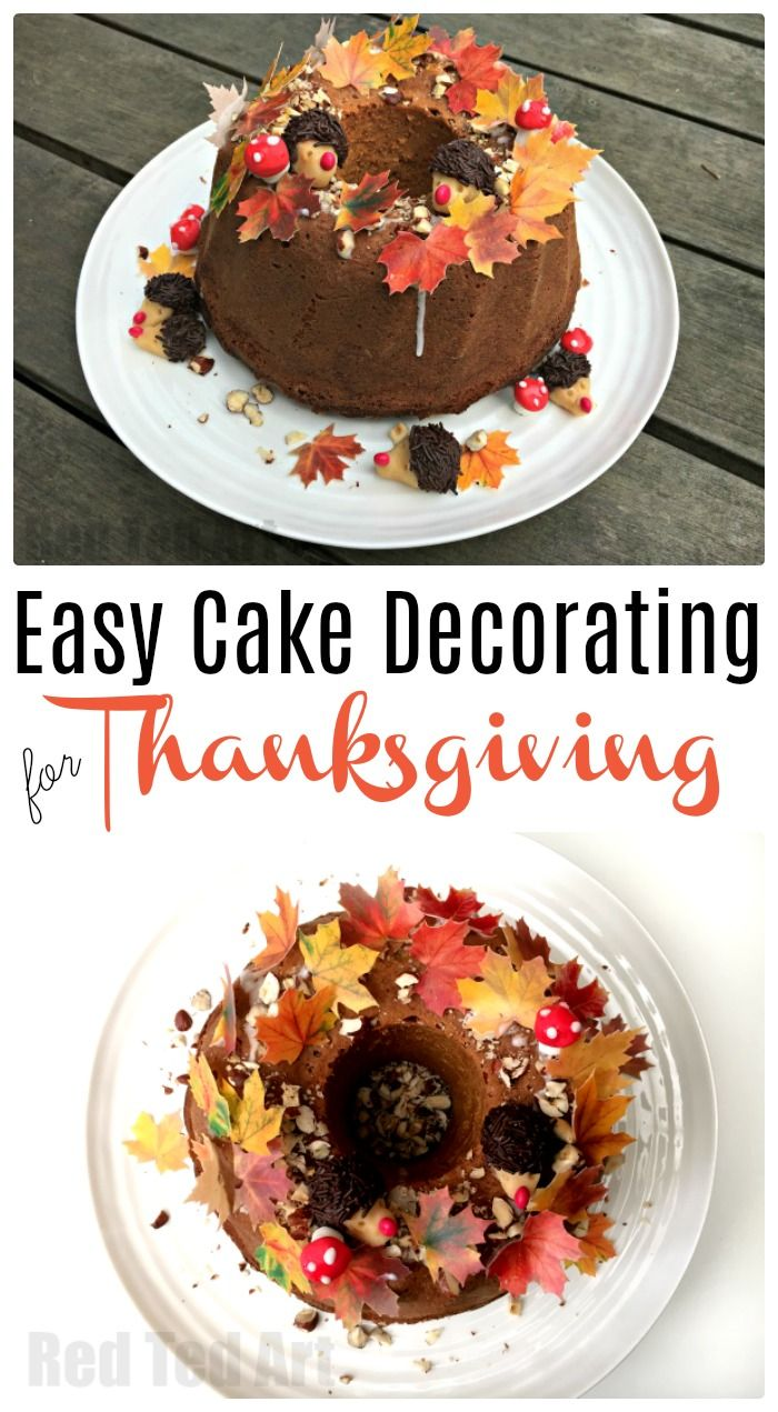 Cute Cake Ideas For Thanksgiving : 2586 best Latest From Red Ted Art images on Pinterest ...