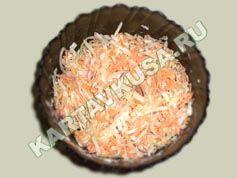 салат из капусты с морковью | приготовление - 5 шаг