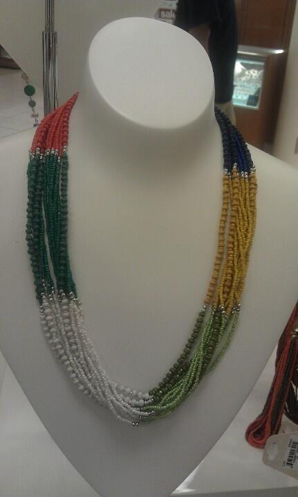 Multi color strand necklace | Jewelry ideas | Pinterest | Strand ...