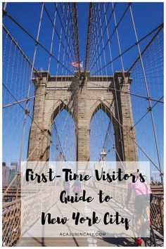 Planning your first trip to New York City should be exciting, but with the many things to do in New York, it can be overwhelming, too. Use this 5-day NYC itinerary to plan your New York City vacation full of memorable NYC attractions! Take a big bite out of the Big Apple with these fun travel tips! #NewYork #traveltips