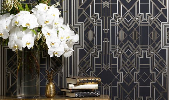 Trending: Hollywood Regency // Golden age glamour and luxe touches of gold.