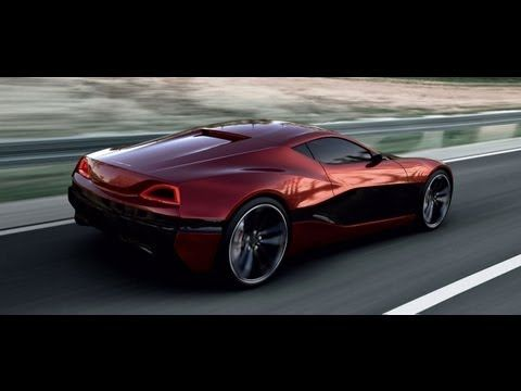 The Croatian Made Rimac Electric Car - 1000+hp and 375 miles on a 1hour charge!