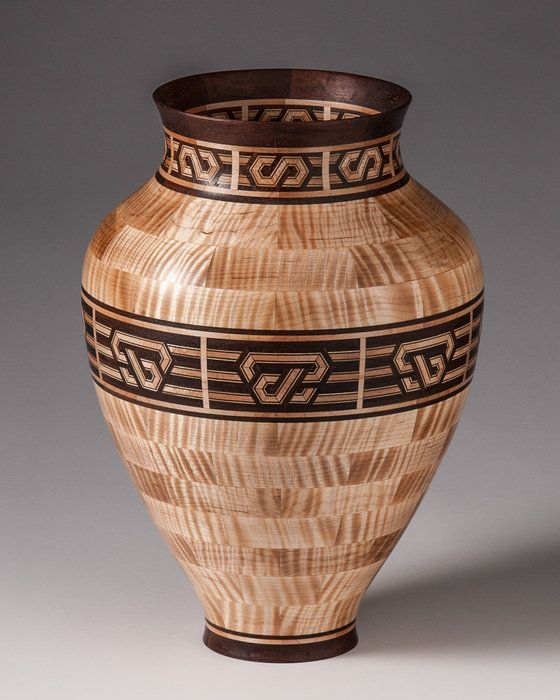 Practice, 1900 piece segmented turning. - by HumidorMinister @ LumberJocks.com ~ woodworking community